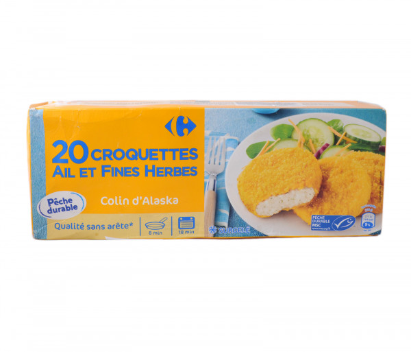 Carrefour Fish croquettes 50gx20