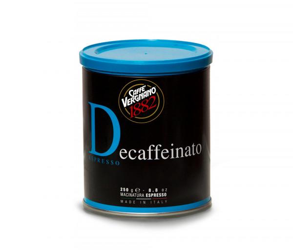 Աղացած սուրճ առանց կոֆեինի 250գ Caffe Vergnano