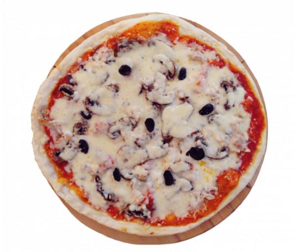 Պիցցա հավի մսով և սնկով (մեծ) Պիցցա Է Վինո