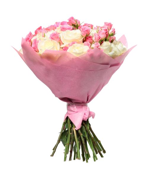 Ծաղկեփունջ «Pink Glasses» My Rose