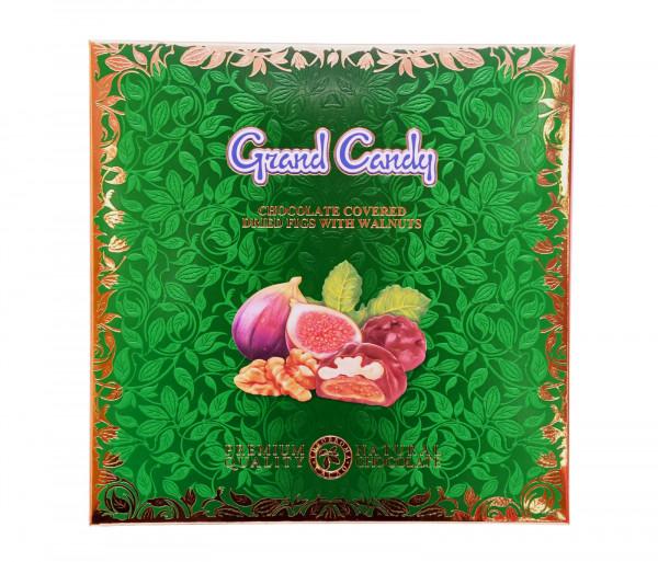 Շոկոլադապատ թզի չիր ընկույզով 200գ Grand Candy