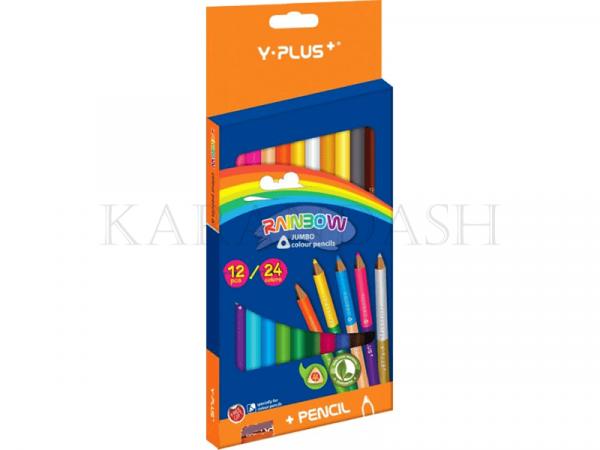 Մատիտներ գունավոր Y Plus+ Rainbow PX1209