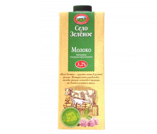 Սելո Զելյոնոե Ուլտրապաստերիզացված կաթ 3.2% 950մլ