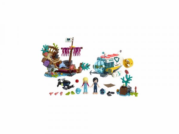 Lego Friends Կառուցողական խաղ «Դելֆինների ազատում»
