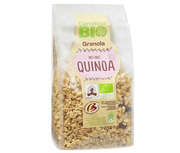 Carrefour Bio Cereal Granola Quinoa 375g