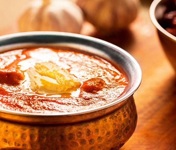 Հավի միսը կարագով Կառմա Հնդկական Ռեստորան