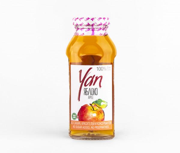 Բնական հյութ «Yan» (խնձոր) 0.25լ