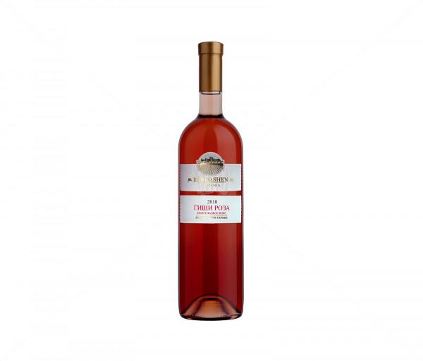 Գինի «Բերդաշեն, Գիշի Վարդ» կիսաքաղցր 750մլ