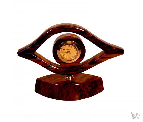 Սեղանի ժամացույց օբսիդիան «Աչք»