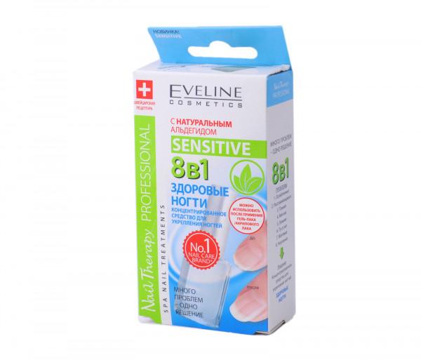 Eveline Nail Therapy Sensative 8/1