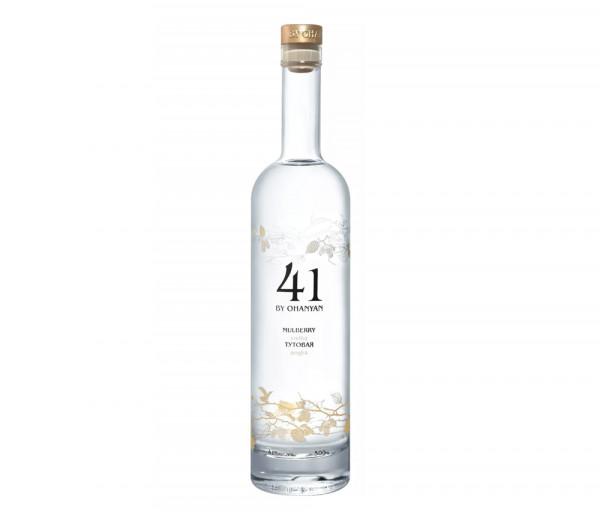 Vodka «41 By Ohanyan» Mulberry 0.5l