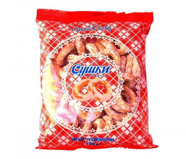 Չորաբլիթ շաքարապատ 200գ Grand Candy
