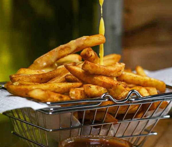Կարտոֆիլ ֆրի պանրային սոուսով EVN Diner