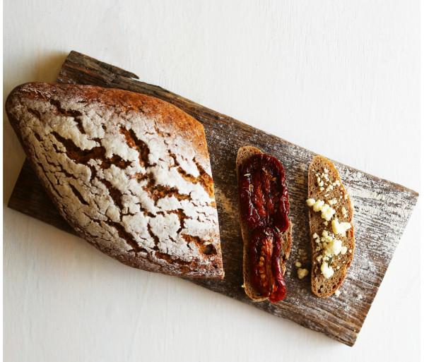 100% տարեկանի հաց թթխմորով պատրաստված Crumbs