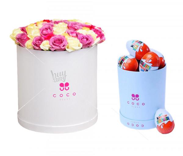Հավաքածու Vanilla sky + Kinder հավաքածու Coco Fiori