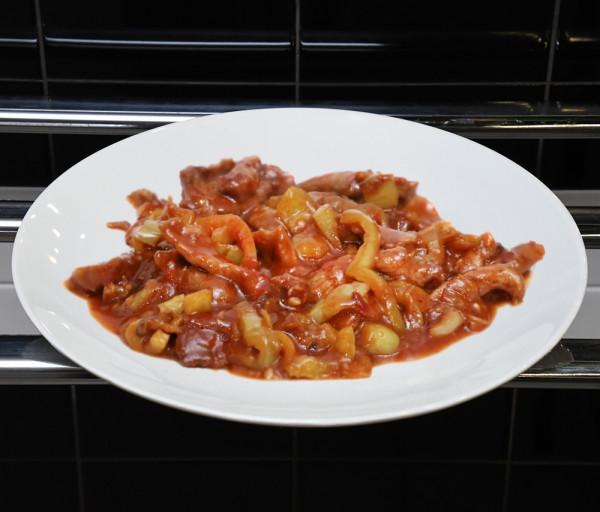 Կծու խոզի միս չինական ձևով Ֆուրշետ Բուֆետ