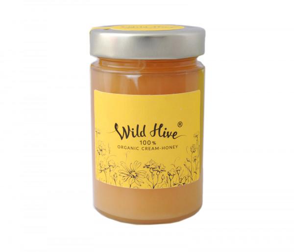 Wild Hive Organic Cream-Honey 430g