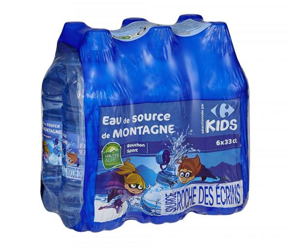 Քարֆուր Մանկական աղբյուրի ջուր 6x330մլ