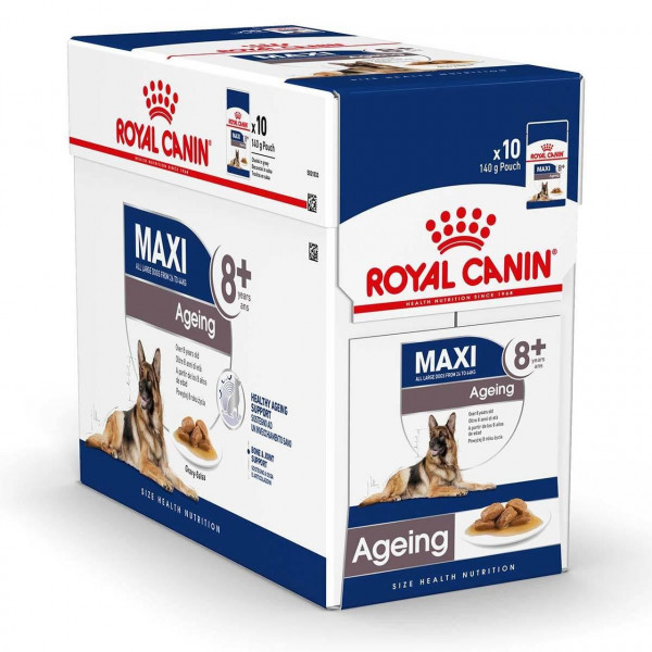 Շան խոնավ կեր Maxi ageing gravy 10 x 140 գ