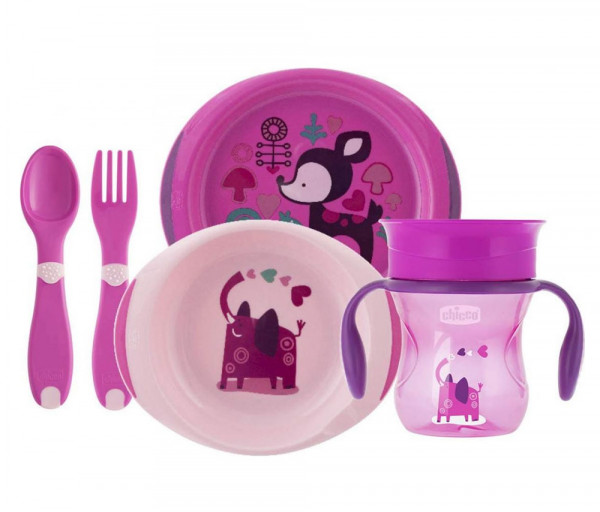 Weaning Set 12m+ Girl 408669CH