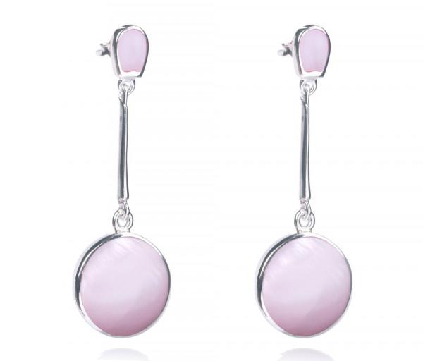Silver earrings SE102P