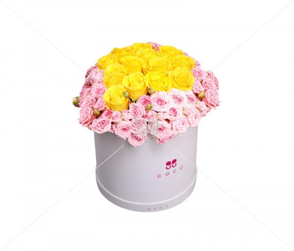Flower arrangement Mirabella (medium) Coco Fiori