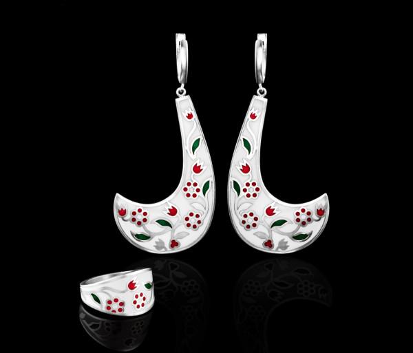 Հավաքածու (oղեր և մատանի) Tevos Jewelry