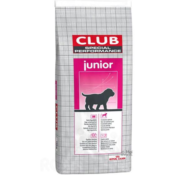 Շան չոր կեր Club Junior 20 կգ