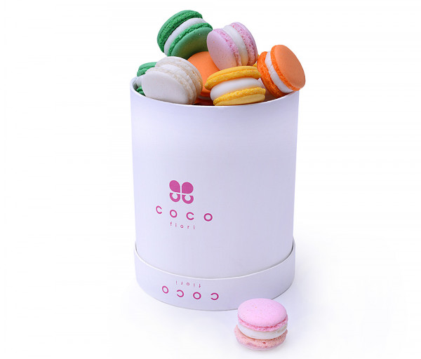 Collection Sweet Macarons 12cm Coco Fiori