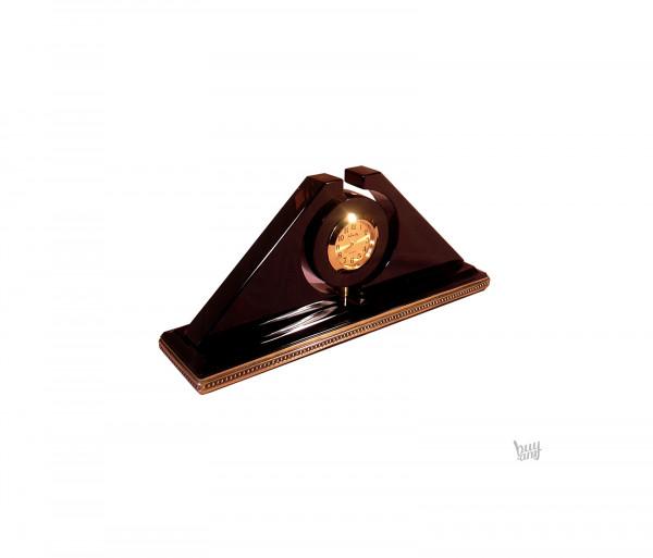 Սեղանի ժամացույց օբսիդիան «Սարդարապատ»