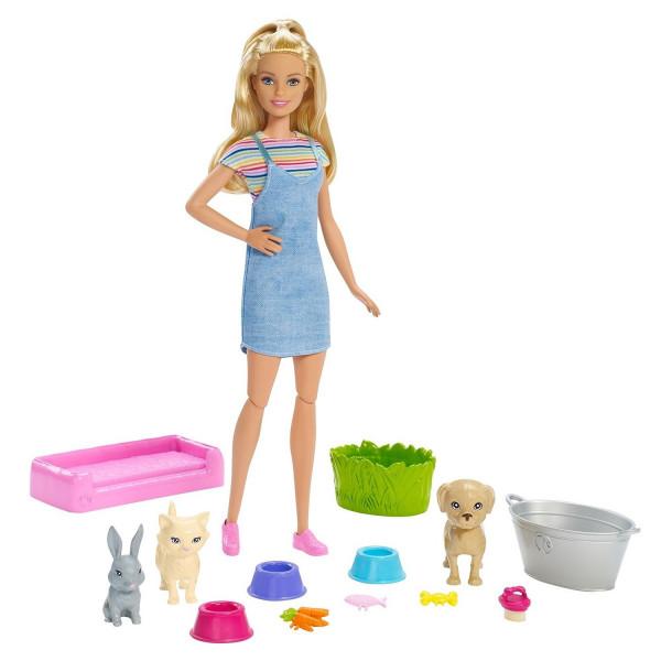 Տիկնիկ հավաքածու Ուրախ լոգանք Barbie