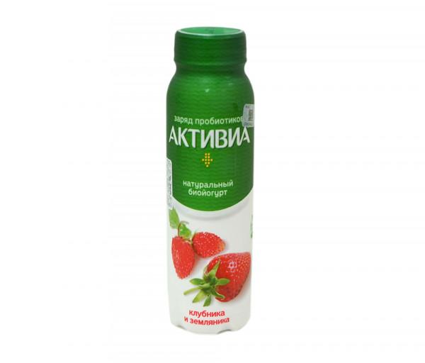 Aktivia Drink Yogurt Strawberry 290g