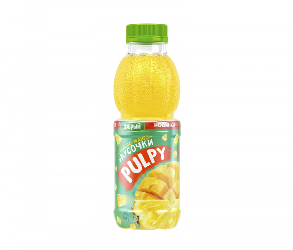 Բնական հյութ «Pulpy» (մանգո, արքայախնձոր) 0.45լ
