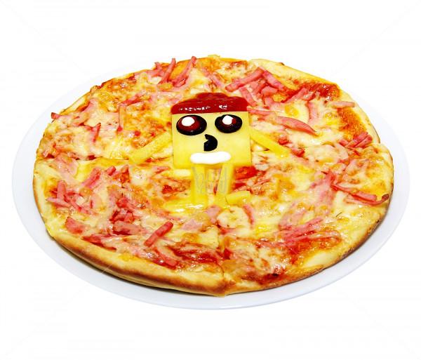 Մանկական պիցցա «Սպանջ Բոբ» Կարաս