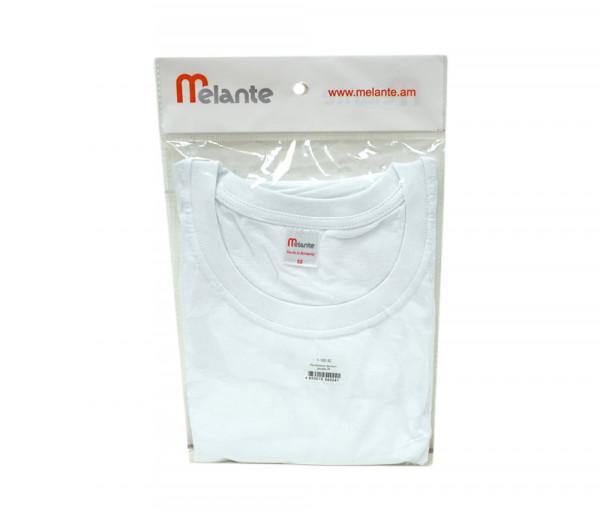 Մելանտե Տղամարդու կիսաթև շապիկ Սպիտակ 10256