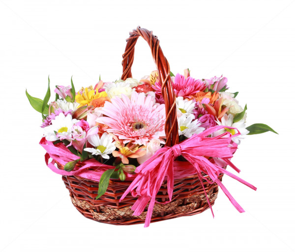Composition ''Colorful basket'' Anahit
