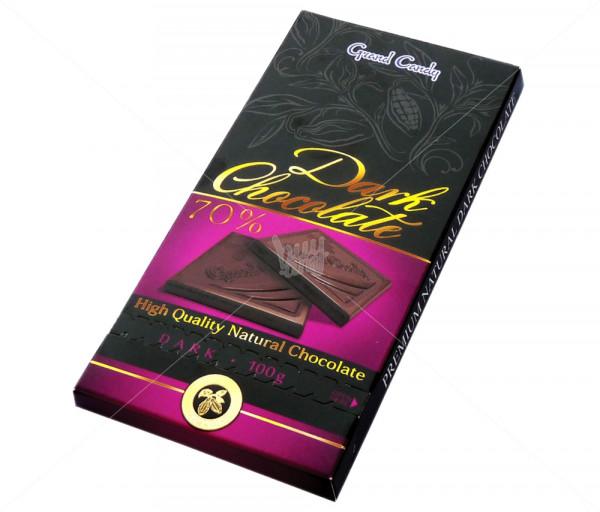 Դառը շոկոլադ 70% Grand Candy