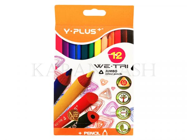 Մատիտներ գունավոր Y Plus+ Jumbo 7C1403/0