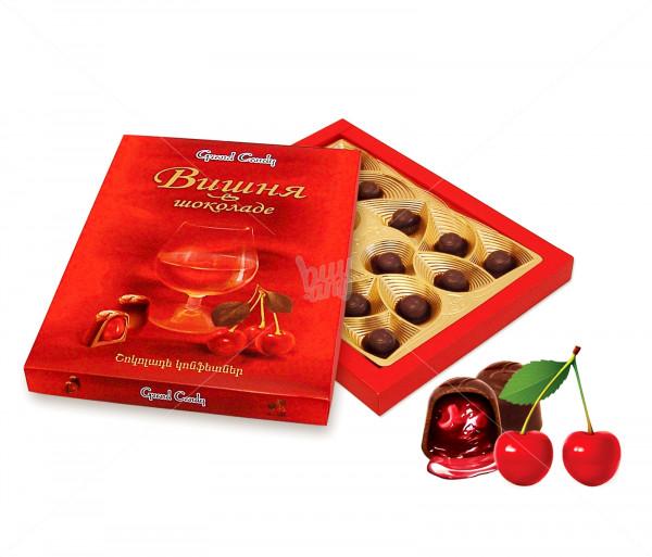 Կոնֆետների ընտրանի «Շոկոլադապատ բալ» Grand Candy