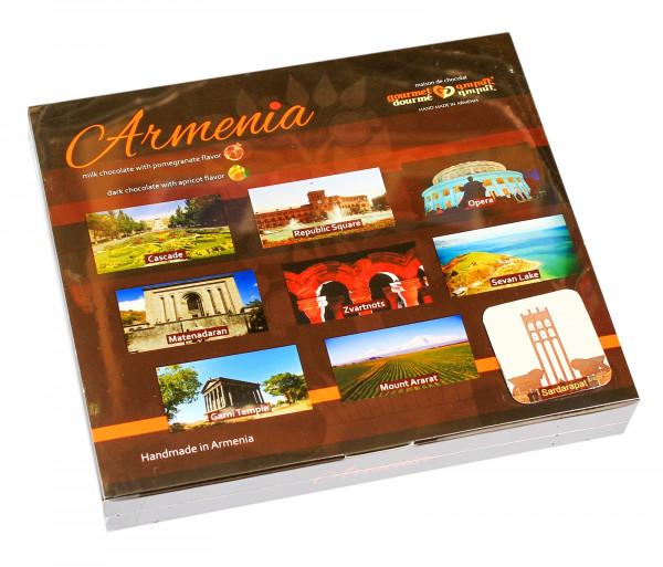 Շոկոլադե կոնֆետների հավաքածու «Արմենիա» Gourmet Dourme
