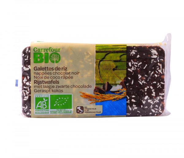 Քարֆուր Բիո բրնձի թխվածքաբլիթ շոկոլադապատ 90գ