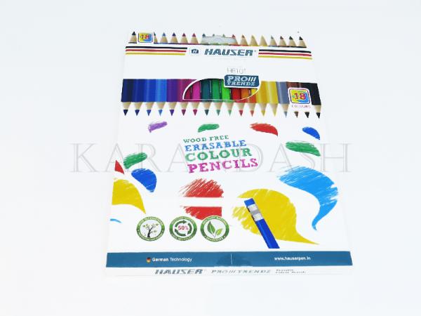 Մատիտներ գունավոր Hauser H1801 18