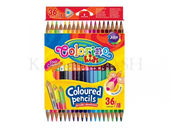 Մատիտներ գունավոր Colorino 68512PTR