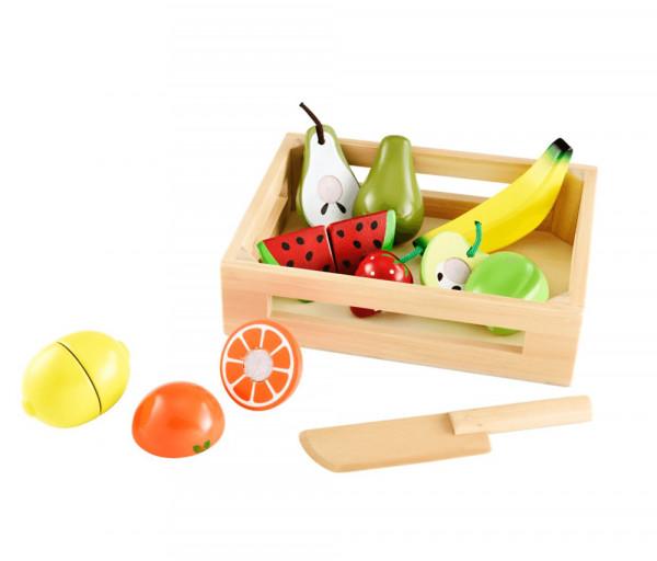 Փայտյա խաղալիք մրգերի հավաքածու, տարիքը՝ 3-8 տ. 541072EL