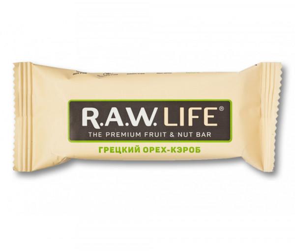 R.A.W. Life Հունական Ընկույզ-կարոբ 47գ