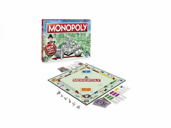 Hasbro Սեղանի Խաղ Մոնոպոլիա «Դասական»