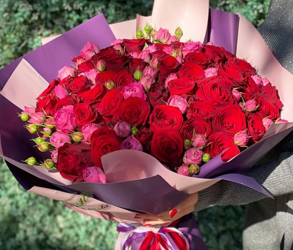 Ծաղկեփունջ N15 Cataleya Flowers