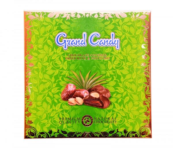 Շոկոլադապատ արմավի չիր պիստակով 190գ Grand Candy