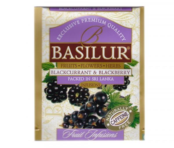 Green tea Black currant and blackberry 1.8g Basilur Tea