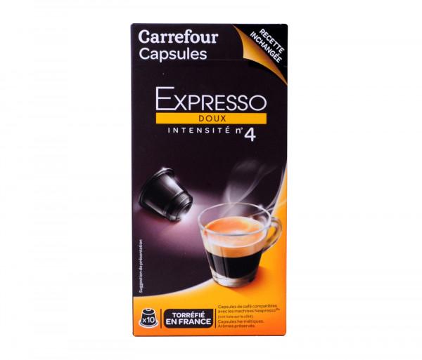 Քարֆուր Էսպրեսսո Պարկուճ թույլ X10